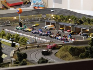 This guy spent 15 years building his ultimate slot car track