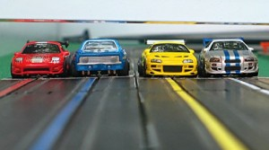 Slot Car Racing Event at Automobile Driving Museum