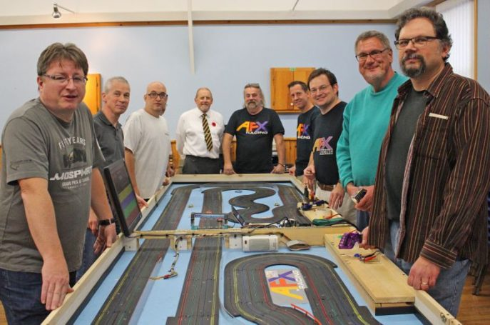 Slot cars bring out the kid in everyone a Lucknow Legion