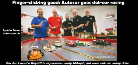 Autocar goes slot-car racing