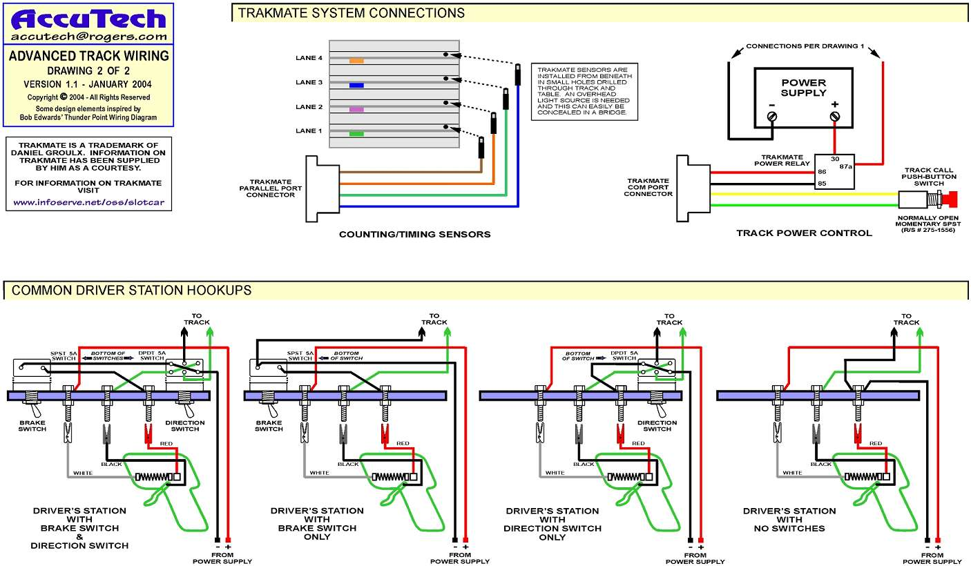 Slot Car Track Wiring Diagrams | Old Weird Herald | Advanced Wiring Slot Car Track |  | The Old Weird Herald